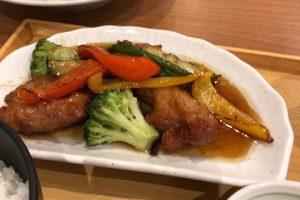 「鶏唐揚げと野菜の甘酢あんかけ膳」を食べたら思いのほか美味しかった話