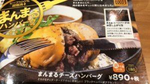 まんまるチーズハンバーグのメニュー写真